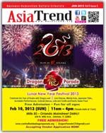 Asia Trend Jan 2013